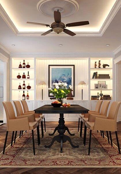 Thiết kế nội thất căn hộ chung cư Mulberry Lane - Anh Linh