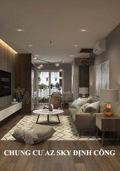 Thiết kế nội thất chung cư AZ Sky Định Công