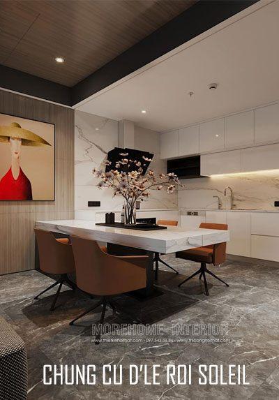 Thiết kế chung cư D'le Roi Soleil Tân Hoàng Minh