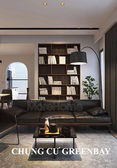 Thiết kế nội thất chung cư GreenBay hiện đại, sáng tạo
