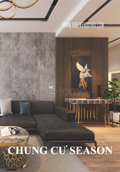 Thiết kế nội thất chung cư Season Avenue hiện đại