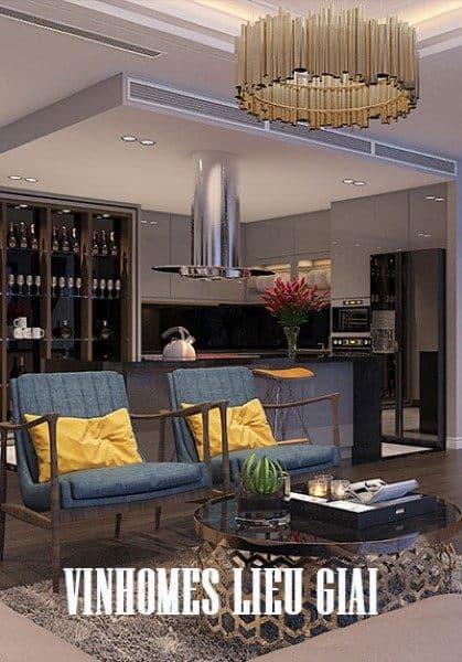 Thiết kế nội thất chung cư Vinhomes Metropolis Liễu Giai - Chị Ngọc