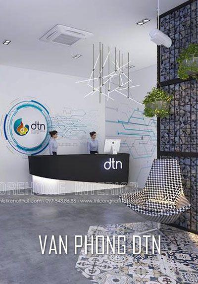 Thiết kế nội thất văn phòng công ty CNTT đẹp, hiện đại