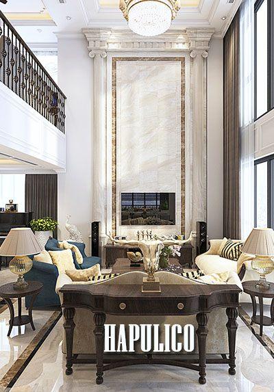 Thiết kế căn hộ Duplex Hapulico sang trọng với gỗ óc chó cao cấp