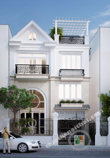 Thiết kế nội thất biệt thự tân cổ điển Sài Gòn - Chị Thủy Phú Nhuận