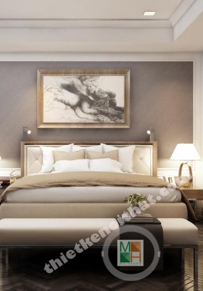Thiết kế nội thất chung cư Royal City phong cách tân cổ điển sang trọng - Mr Y