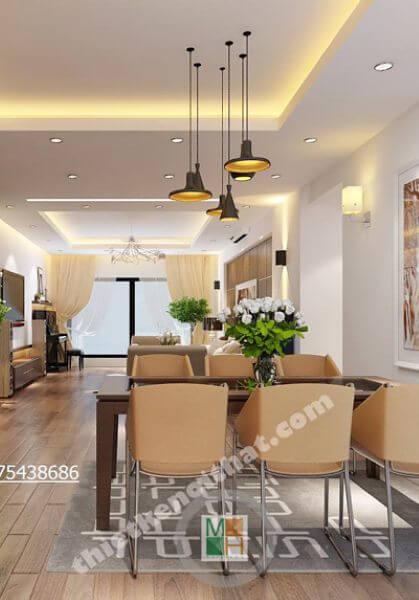 Thiết kế nội thất chung cư Mulberry Lane, Hà Đông - Chị Thảo