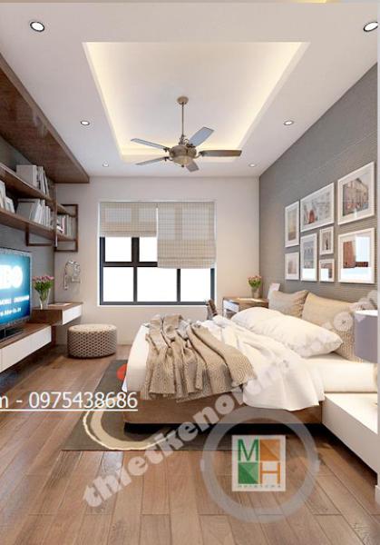 Thiết kế nội thất chung cư hiện đại tại Mulberrylane - Nhà Anh Lâm