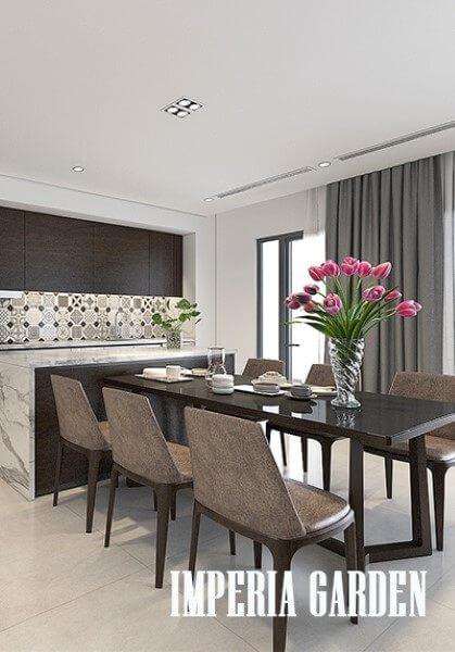 Thiết kế và thi công nội thất tại chung cư Imperia Garden phong cách hiện đại