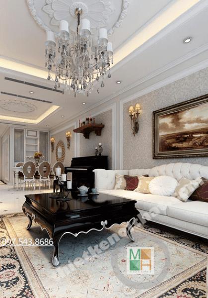 Thiết kế nội thất chung cư Thăng Long Number One Viglacera - Chi Xiêm