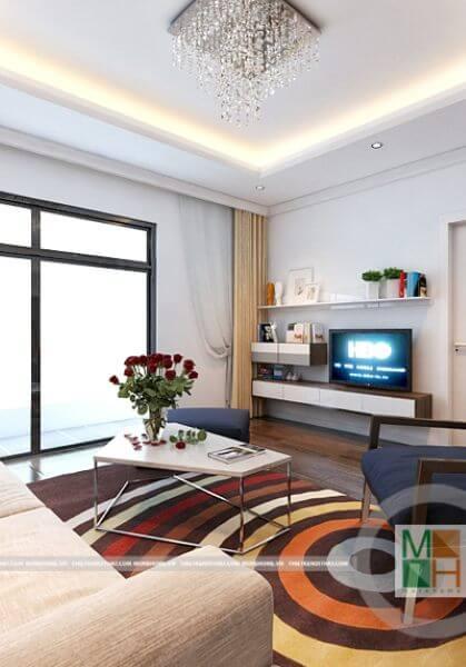 Thiết kế nội thất chung cư Timescity phong cách hiện đại nhà anh Nam