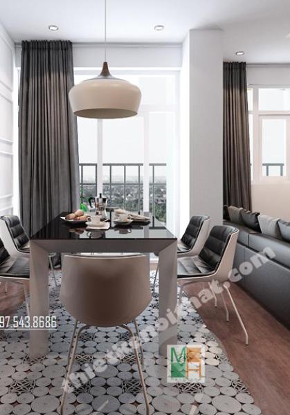 Thiết kế nội thất chung cư hiện đại tại Trung Yên Plaza Hà Nội