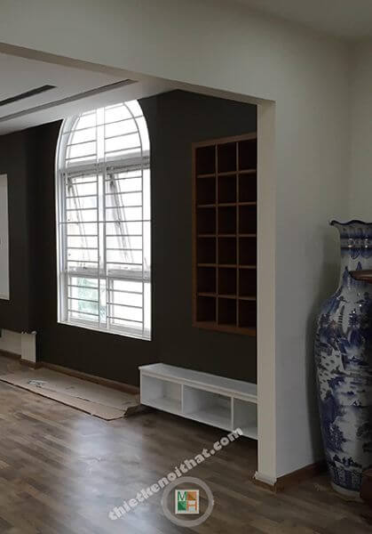 Thi công nội thất biệt thự Huyndai HillState phong cách hiện đại, đẹp.
