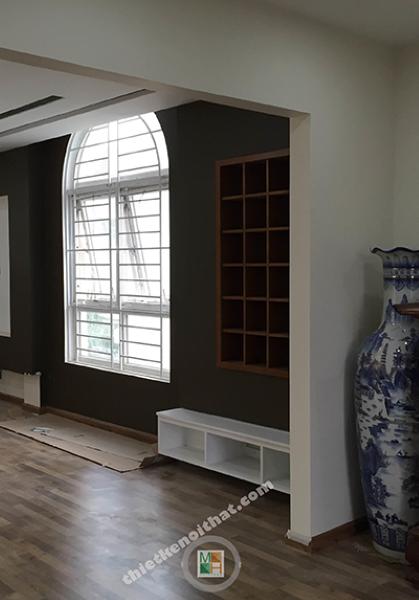 Thi công nội thất biệt thự Huyndai HillState phong cách hiện đại
