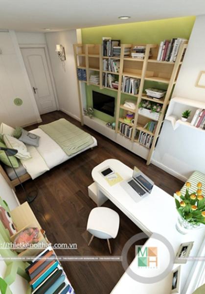 Thiết kế nội thất chung cư tân cổ điển Mandarin Garden - Anh Tuấn