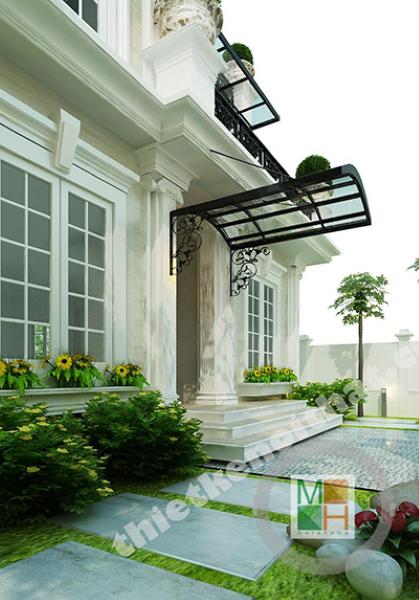 Thiết kế nội thất biệt thự Việt Hưng - Phong cách tân cổ điển