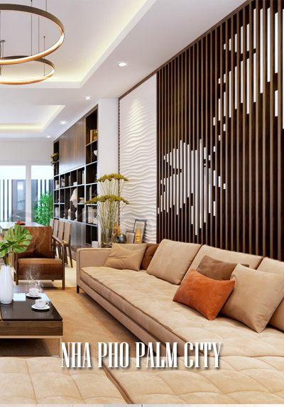 Thiết kế nội thất nhà phố Palm City vẻ đẹp hoài niệm cuốn hút