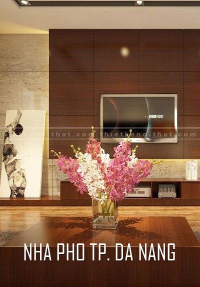 Thiết kế nội thất nhà phố hiện đại đẹp tại Ngô Thì Nhậm Tp Đà Nẵng