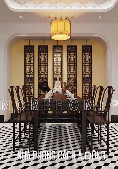 Thiết kế nhà phong cách Á Đông - một vẻ đẹp hoài niệm