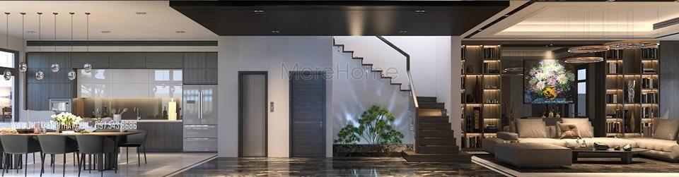 Thiết kế nội thất biệt thự cao cấp Vinhomes Riverside The Harmony