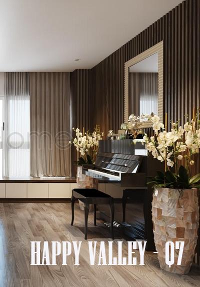 Thiết kế căn hộ chung cư Happy Valley - Quận 7 Tphcm