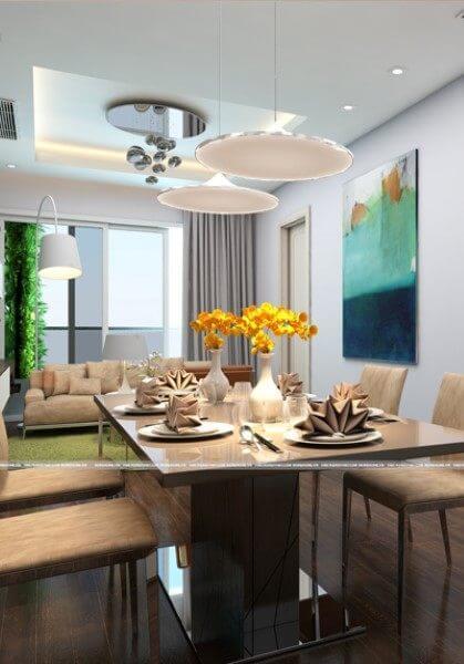 Thiết kế nội thất căn hộ chung cư Imperia Garden City - Căn 80m2 hiện đại, tiện nghi