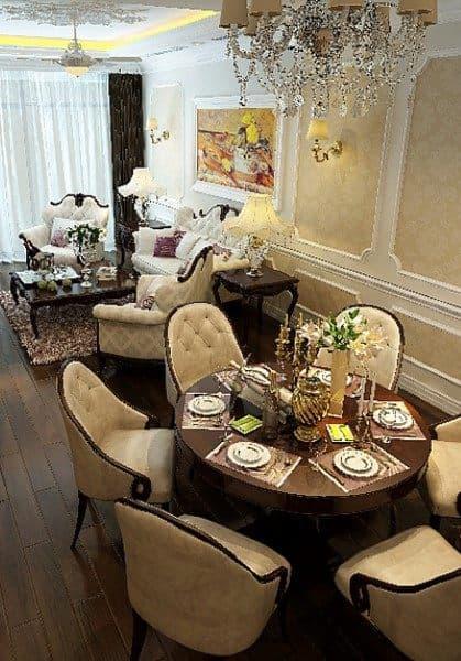 Thiết kế nội thất chung cư 311 R1 Royal City - Anh Bình