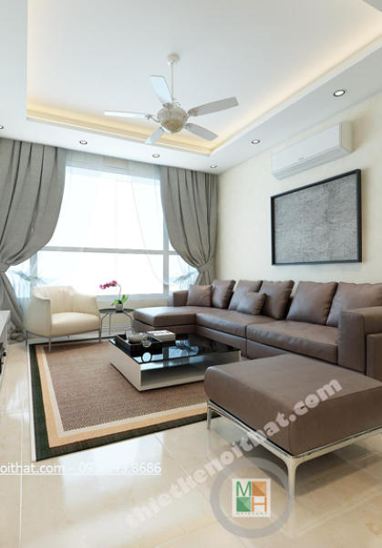 Thiết kế nội thất chung cư Timescity - Chị Thảo