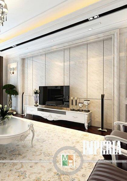 Thiết kế căn hộ penthouse tân cổ điển sang trọng tại Imperia Garden