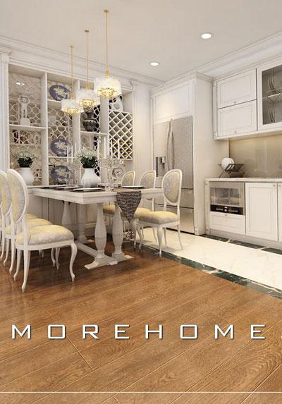 Mẫu thiết kế nội thất phòng bếp ăn đẹp bạn nên tham khảo