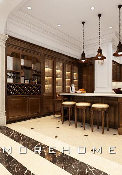 Mẫu thiết kế nội thất phòng bếp đẹp, sang trọng và tiện nghi