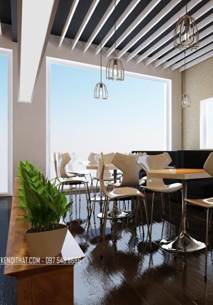 Thiết kế quán cafe hồ tây