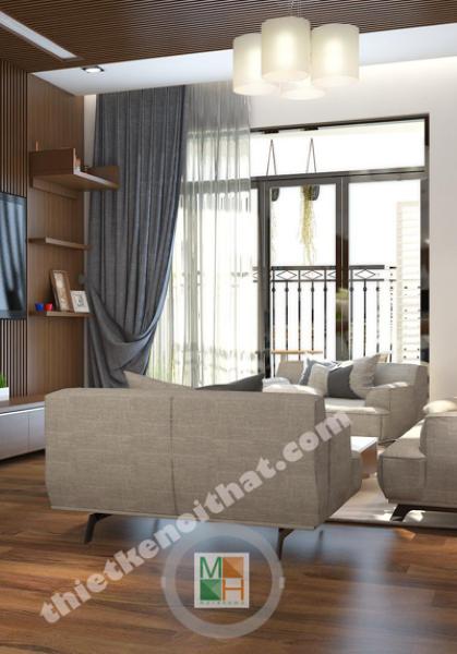 Thiết kế biệt thự gỗ việt tại Hà Nội phong cách hiện đại - Anh Hùng