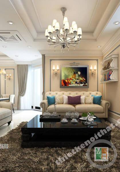Thiết kế chung cư RainBow Linh Đàm - Anh Hoàn