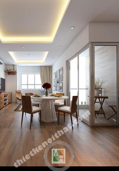 Thiết kế nội thất golden palace - nhà anh Chung