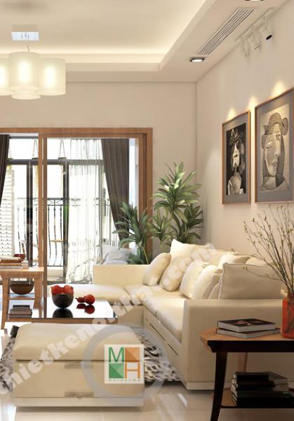 Thiết kế chung cư royal city cao cấp - Chị Vân