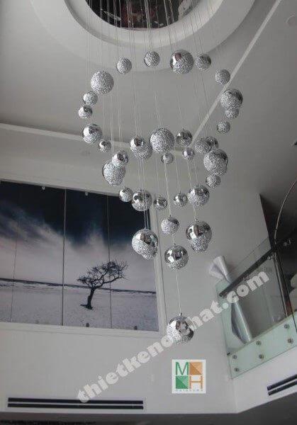 Thi công nội thất căn hộ Duplex tại Mandarin Garden - Nhà chị Phương