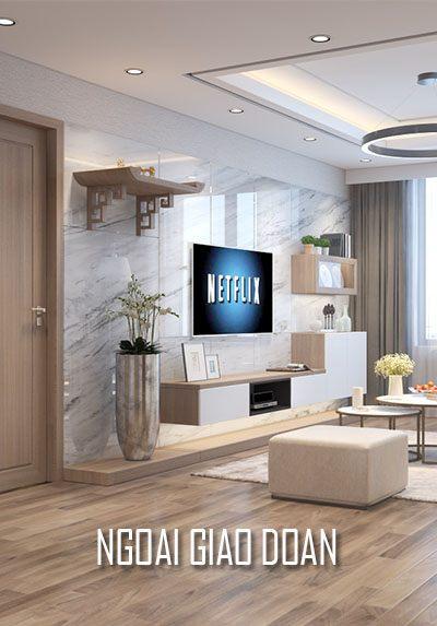 Thiết kế căn hộ chung cư Ngoại Giao Đoàn - Anh Sơn hiện đại, đẹp