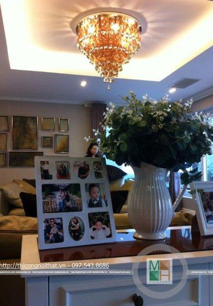 Thi công nội thất chung cư cao cấp tại Trần Thái Tông, Cầu Giấy, Hà Nội - Mr Cường
