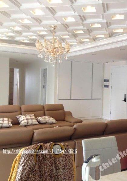 Thi công nội thất chung cư tại Bắc Linh Đàm - Nhà anh An