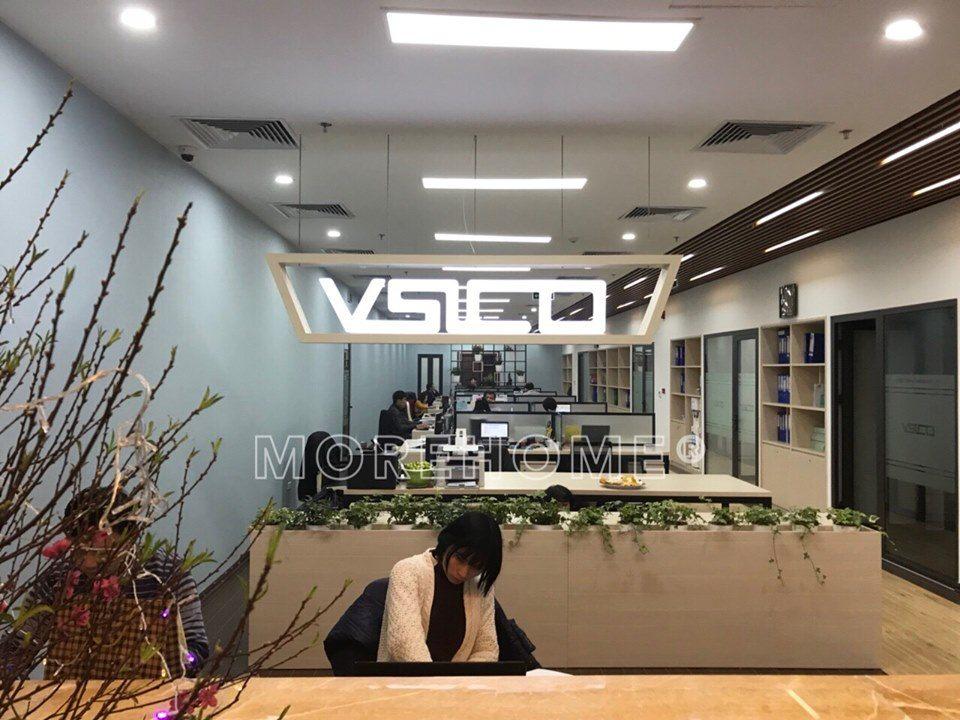 Thi công nội thất văn phòng VISCO