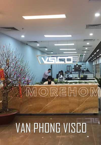 Thi công nội thất văn phòng hiện đại sang trọng tại VISCO