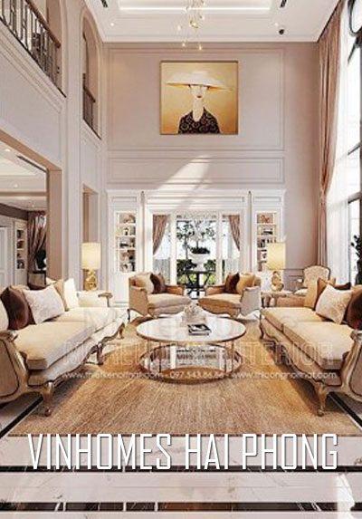 Thiết kế biệt thự cao cấp Vinhomes Imperia Hải Phòng phong cách tân cổ điển sang trọng