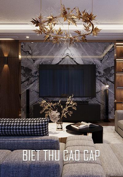 Mẫu thiết kế nội thất biệt thự cao cấp đẹp, sang trọng - Anh Tài