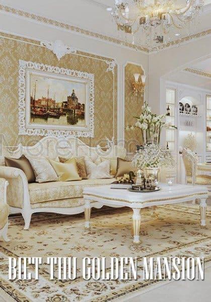 Thiết kế biệt thự tân cổ điển Golden Mansion Phổ Quang