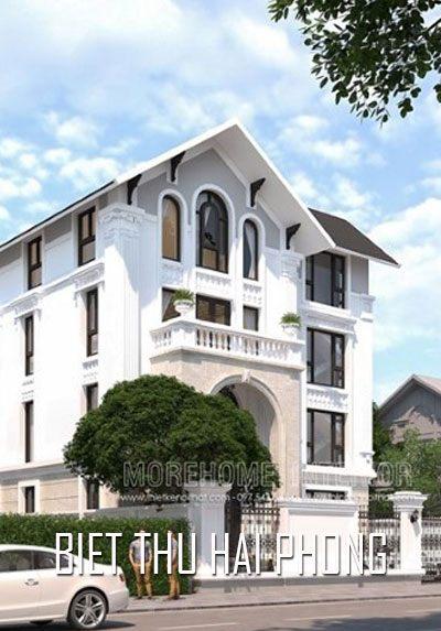 Thiết kế biệt thự đẹp tại khu đô thị Hải Đăng Hải Phòng