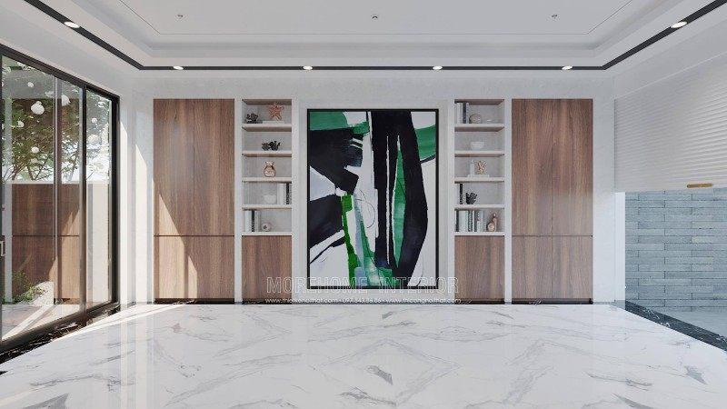 Thiết kế nội thất biệt thự hiện đại vinhomes imperia hải phòng phân khu manhattan