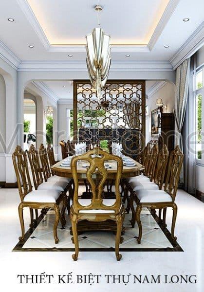 Thiết kế nội thất biệt thự Nam Long Tp. Hồ Chí Minh