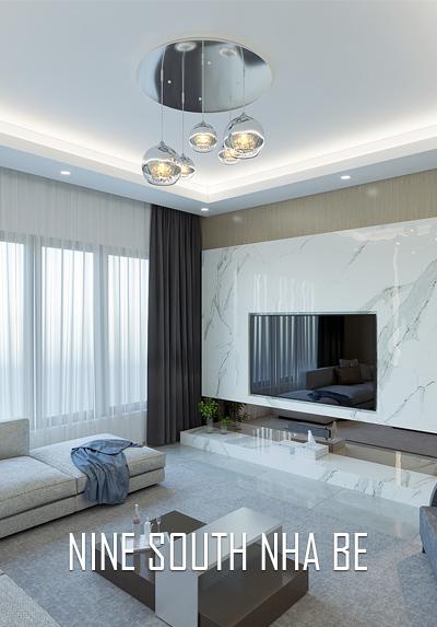 Thiết kế nội thất biệt thự hiện đại Nine South Nhà Bè