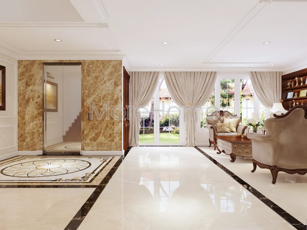 Thiết kế biệt thự phổ Thiết kế nội thất biệt thự Phổ Quang Tân Bìnhquang